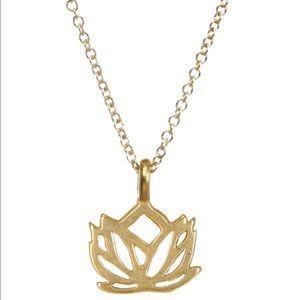 Dogeared Lotus chain